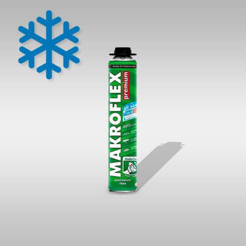 Alt Text Macroflex Premium зимняя монтажная пена Macroflex Premium зимняя Makroflex premium winter