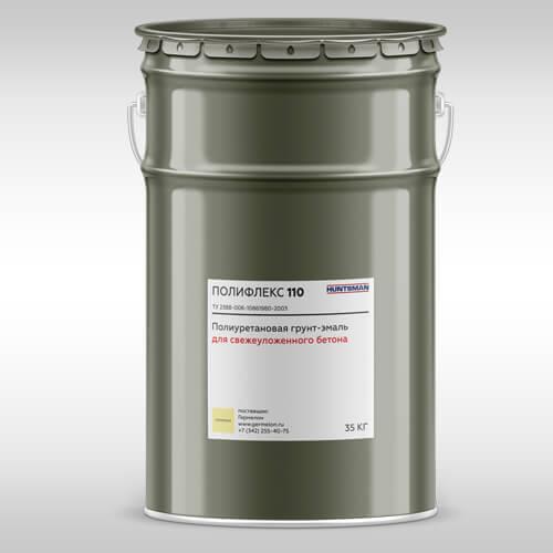 Полифлекс 110 — полиуретановая грунт-эмаль  Тонкослойные покрытия пола и стен Poliflex 110