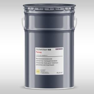 Цементно-полиуретановые покрытия Poliplan 108 rapid 300x300