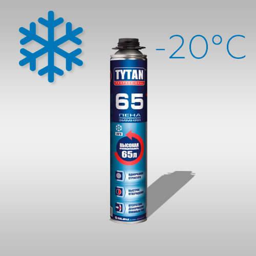 Alt Text TYTAN Professional 65 зимняя пена TYTAN Professional 65 зимняя Tytan Professional 60 winter foam