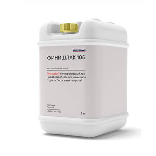 Финишлак 105 — глянцевый полиуретановый финишный лак для наливных полов  Финишные лаки finishlak 105