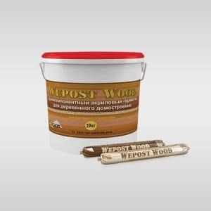 Герметики для деревянного дома Герметики для деревянных домов wepost wood 300x300